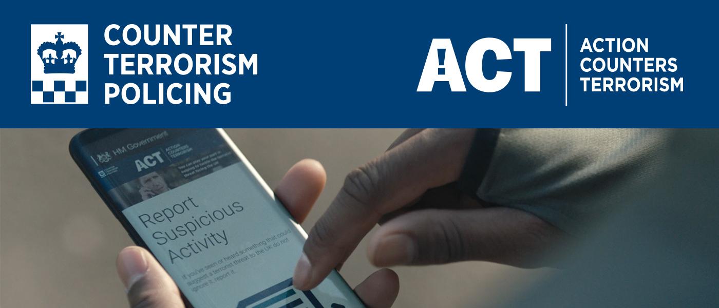 Reporting suspicious activity online